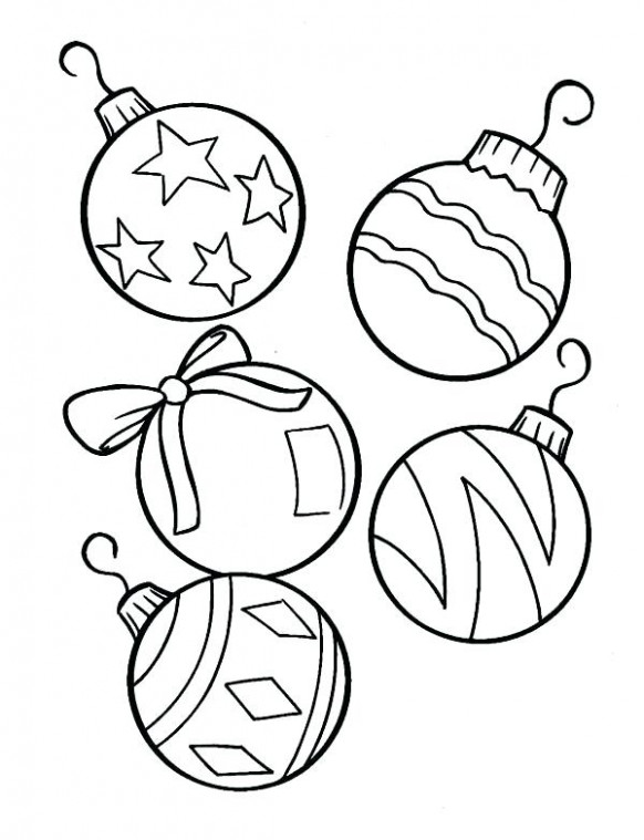 Christmas Tree Coloring Pages Free Free Coloring Pages For Tree ..