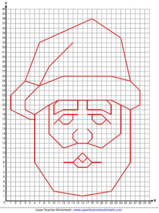 Christmas Worksheets – Christmas Coloring Grid Worksheets
