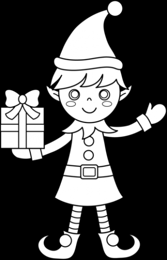 Click on the below best printable Christmas Elf Coloring Pages to ...