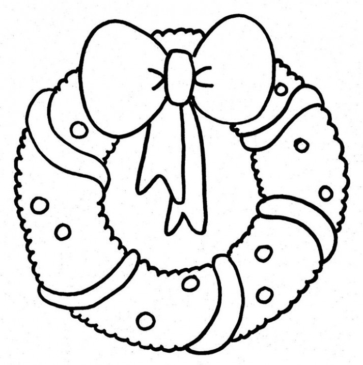 click the christmas wreath coloring pages. printable coloring sheets ..
