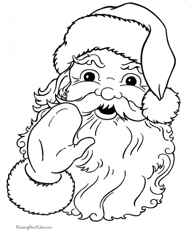 collection of christmas coloring pages that you can color on the ..