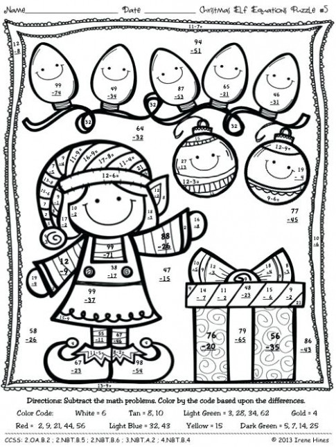 color by number christmas coloring pages – sugarbucketink