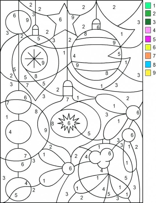 Color By Numbers Printables Color By Numbers Color By Number ..