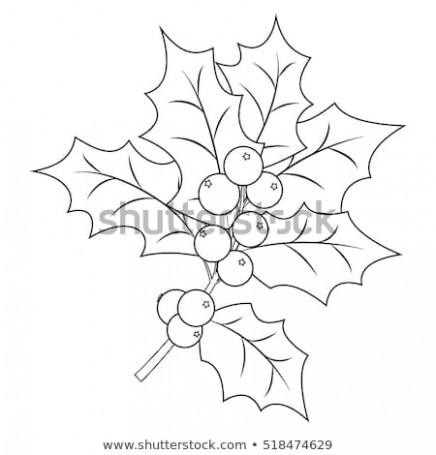 Coloring Book Page Adults Children Christmas Wektor stockowy ..