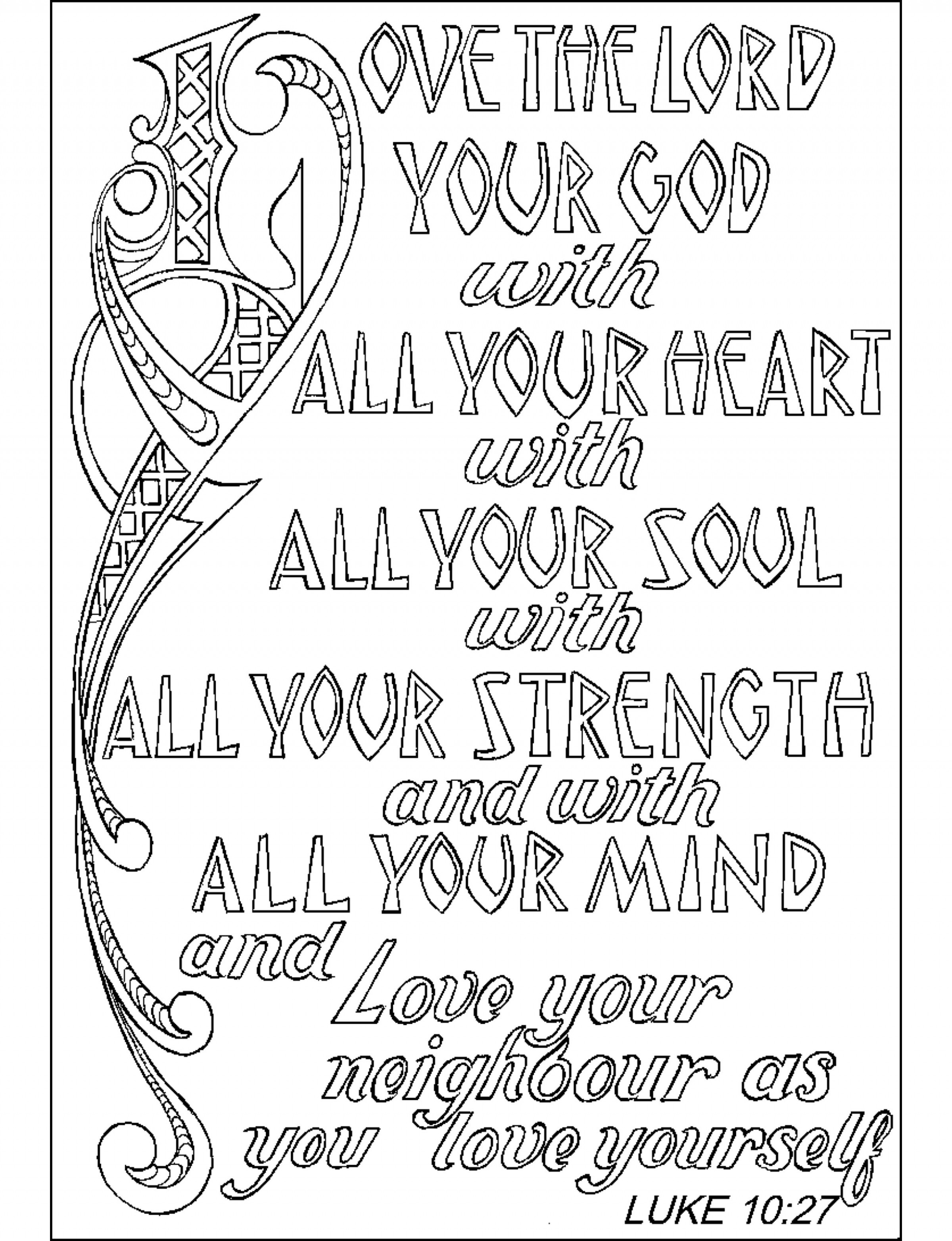 Coloring Book World ~ Bible Verse Coloring Pages For Adults Image ..