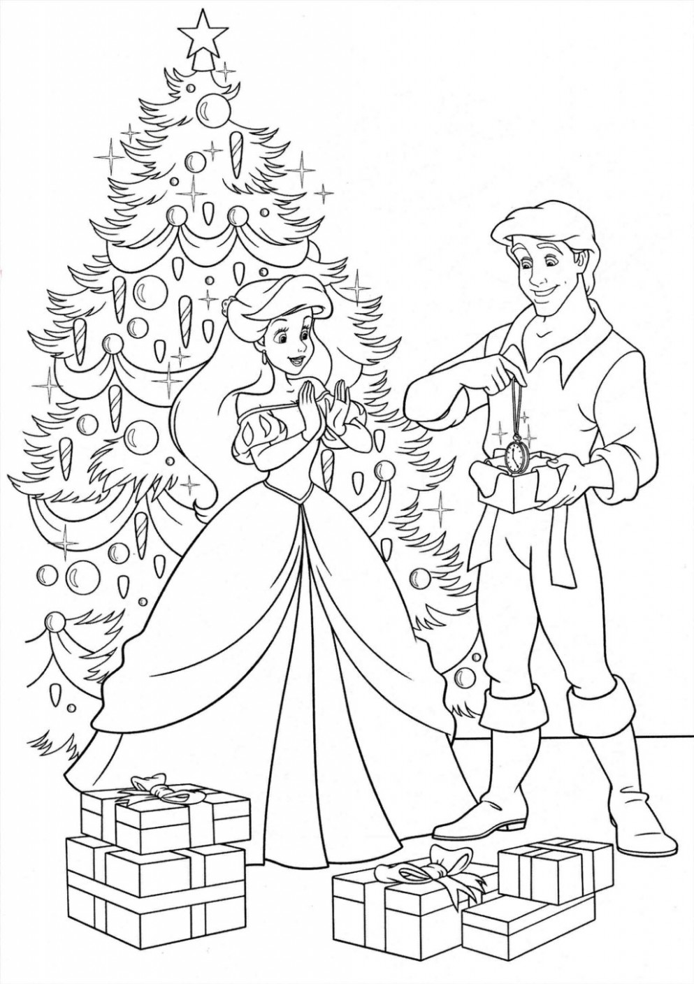 Coloring Book World ~ Free Disney Christmas Coloring Pages Printable ..