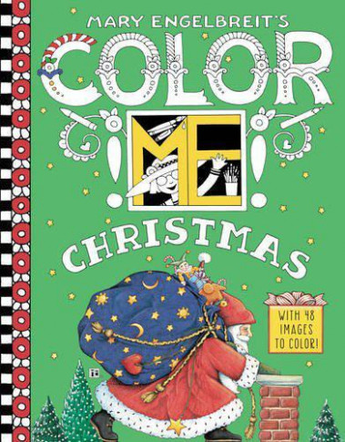 Coloring Books – Mary Engelbreit – Christmas Coloring Books Wholesale