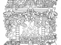 Coloring Ideas : Christmas Coloring Templates Ideas Free Pages ..