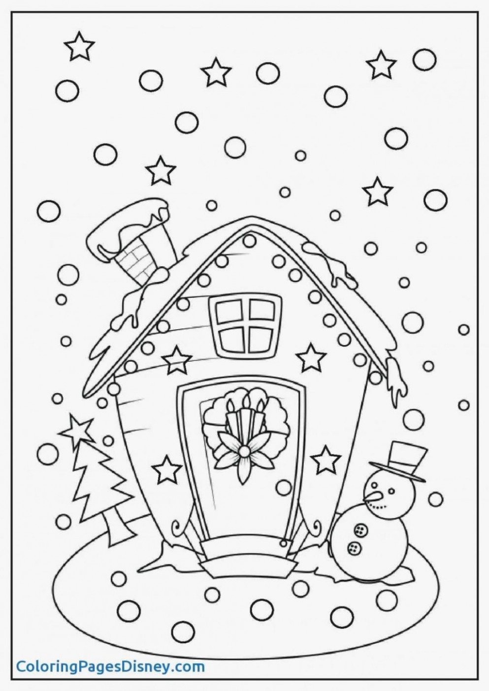 Coloring Ideas : Free Christmasd Coloring Pages Printable For ..
