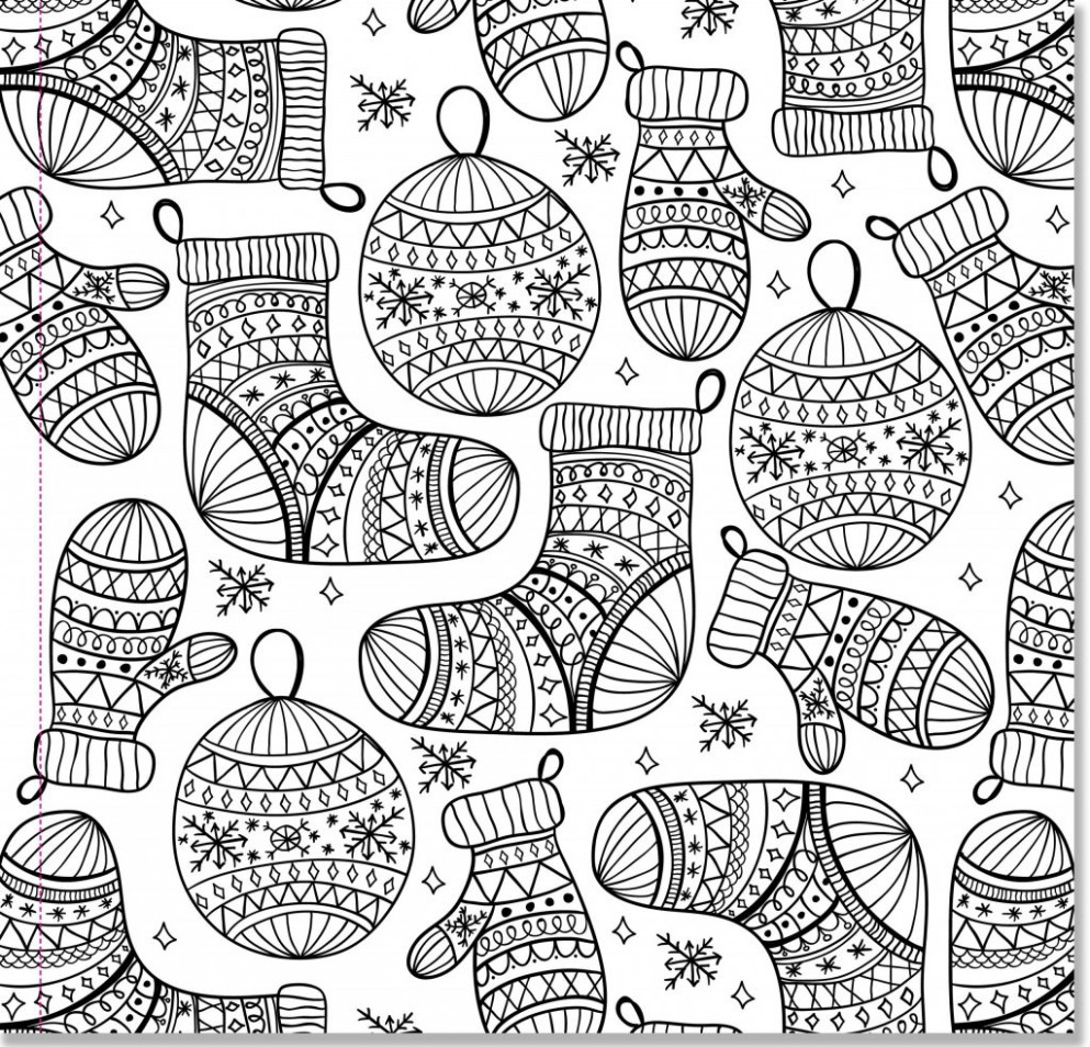coloring page ~ Christmas Coloring Pagese Pdf Vector Eps Jpeg Format ...
