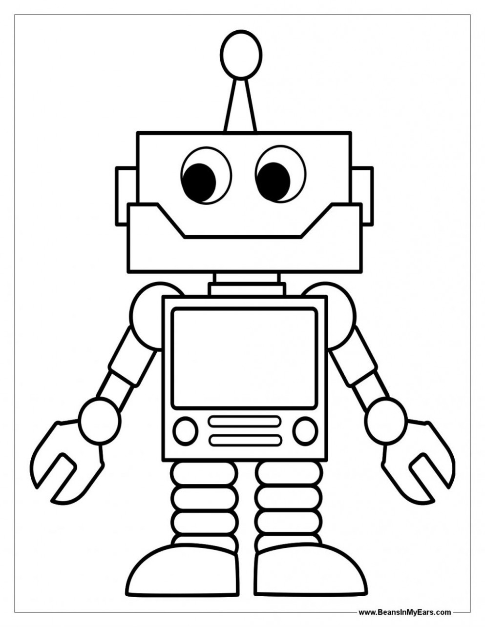coloring page ~ Fantastic Robot Coloring Pages To Print In With ..