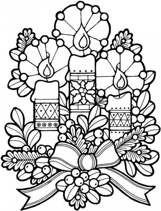 Coloring Pages Christmas For Adults | Free download best Coloring ..