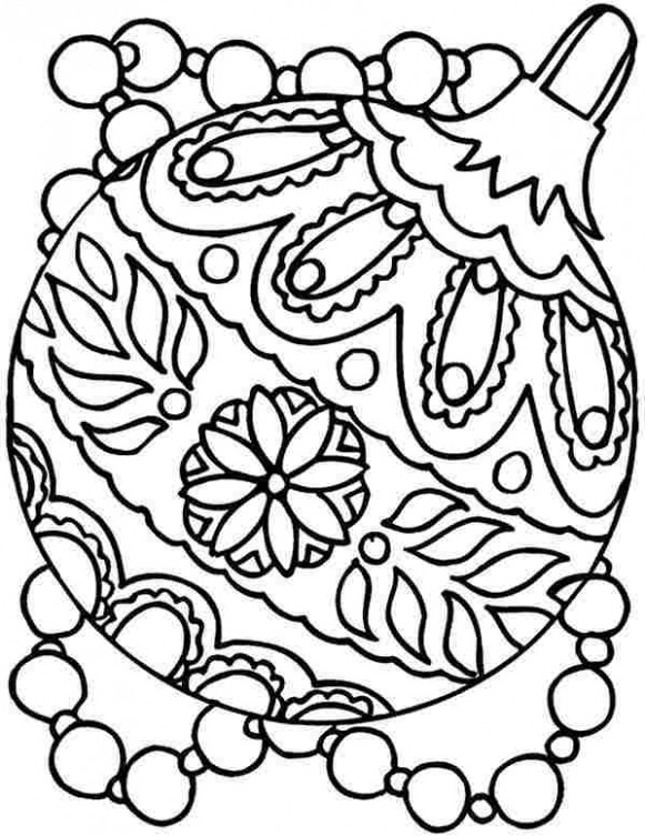 Coloring Pages For Adults Christmas | Free download best Coloring ...