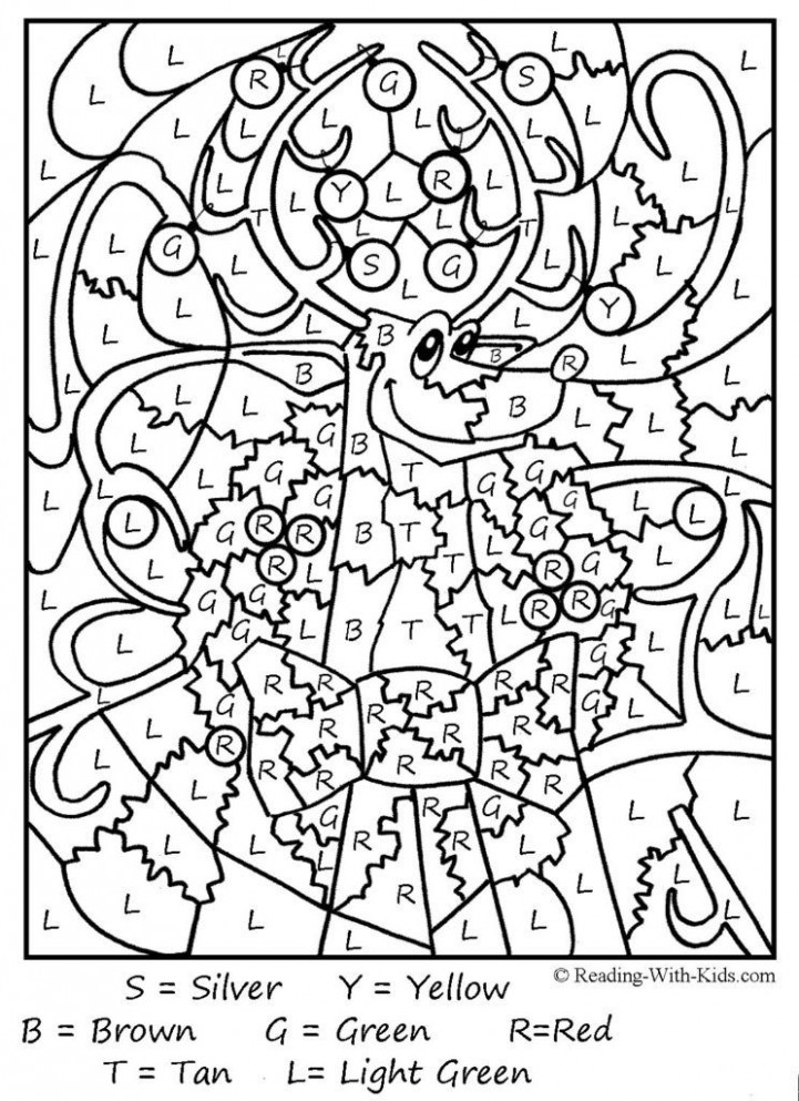 Coloring Pages: Free Color By Number Printables For Adults Free ..
