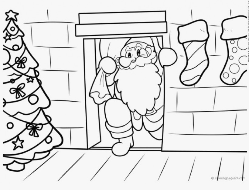 coloring pages: Free Printable Christmas Coloring Pages For Adults ..