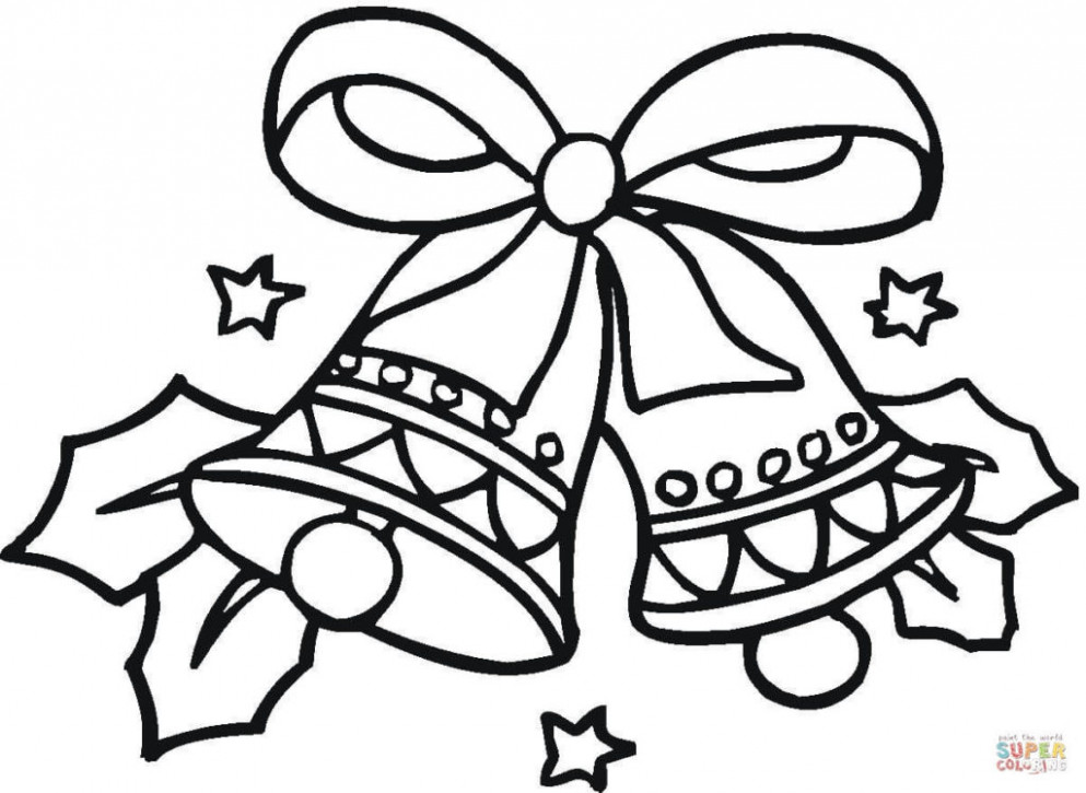 Coloring Pages Free Printablemas Coloring Pages Bells Page Teens ..