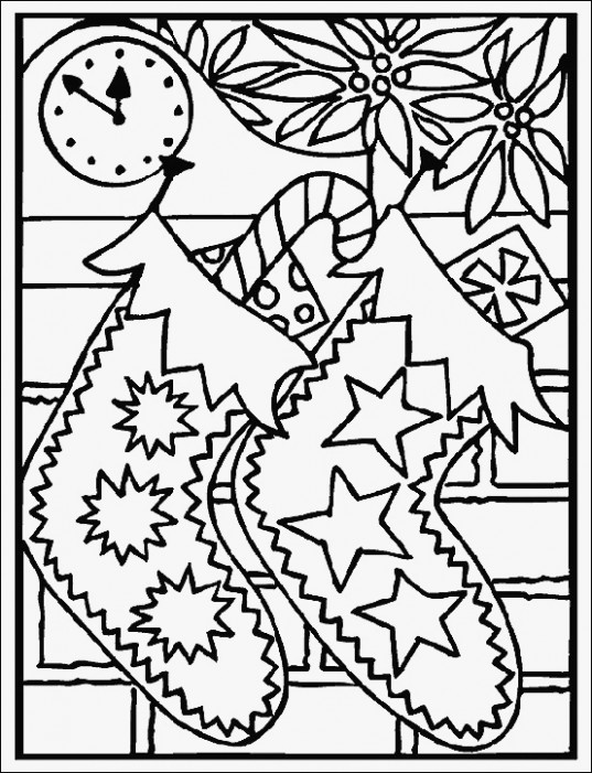 coloring pages: Fun Coloring Worksheets 14 Easy Printable Christmas ...