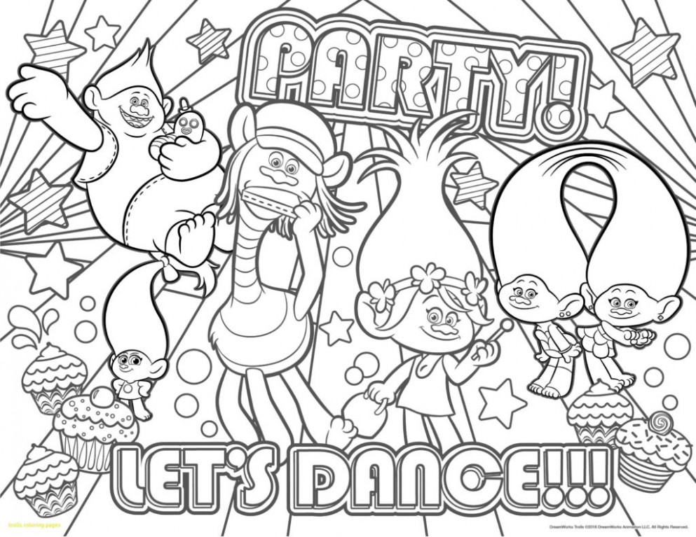 coloring ~ Trollsg Pages Poppy Inspirational Christmas Book Swifte ..