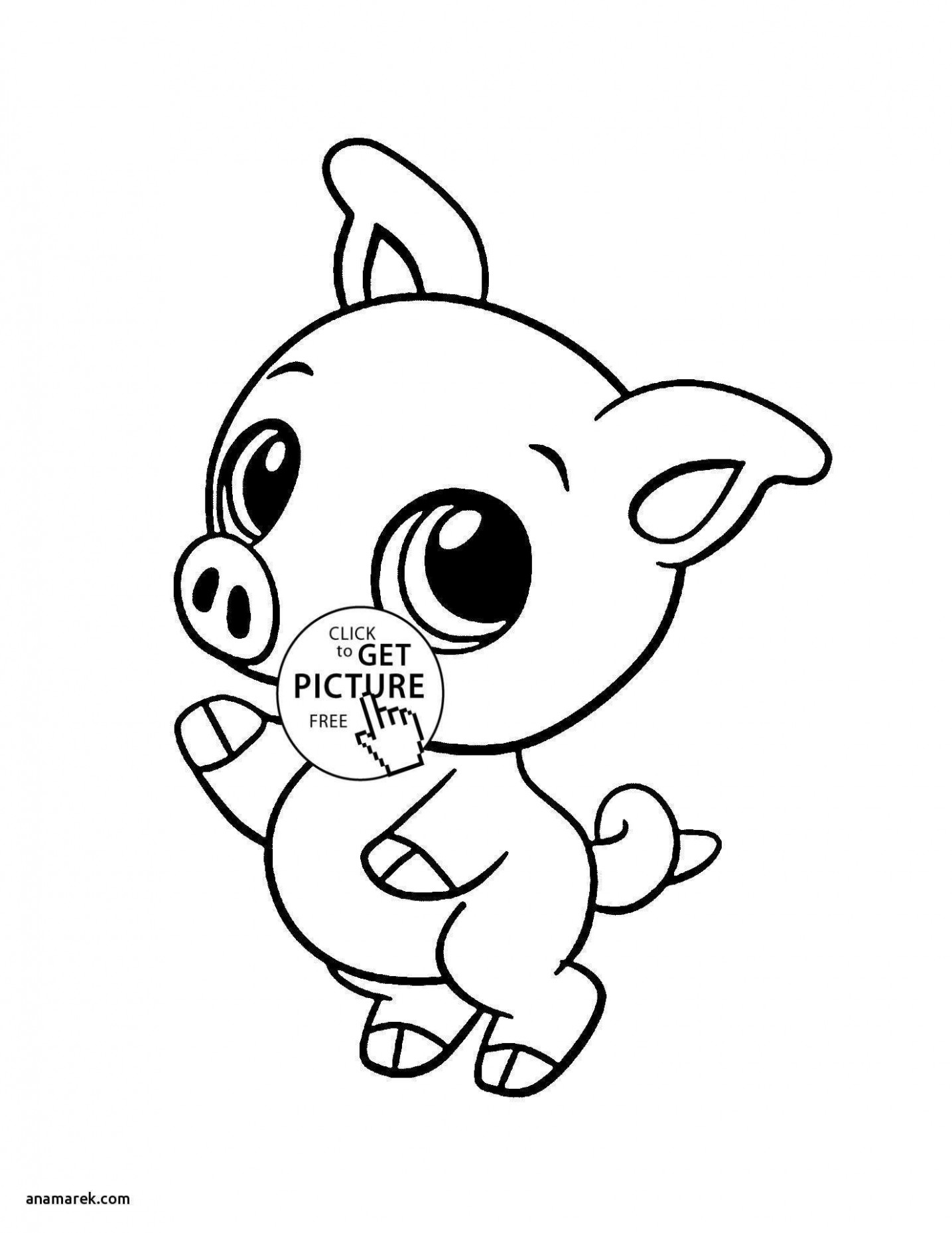 Cute Jungle Animal Coloring Pages Unique Baby Animal Color Pages 20 ..