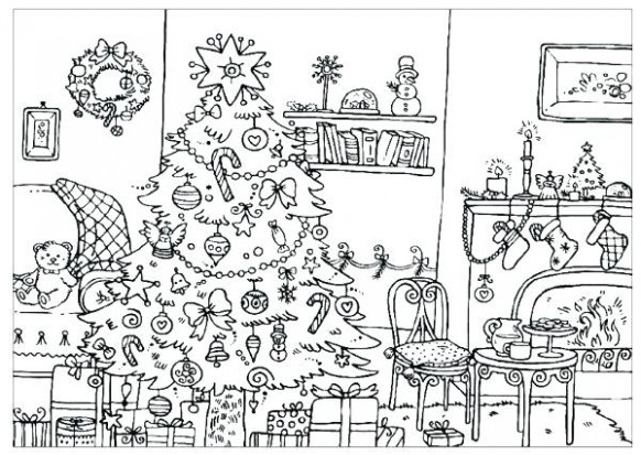 difficult christmas coloring pages – porongurup – Christmas Coloring Pages Difficult