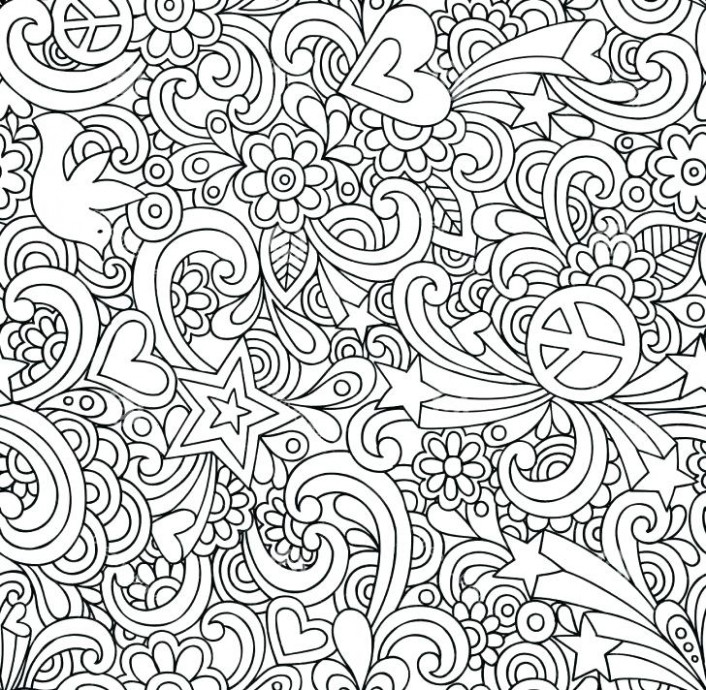 Difficult Coloring Pages Free Free Printable Difficult Coloring ...