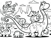 Dinosaur Coloring Pages For Preschoolers Dinosaur Color Page ..