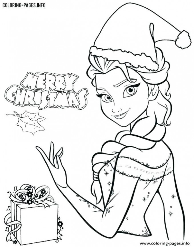 Disney Christmas Coloring Pages Coloring Pages Disney Princess ..