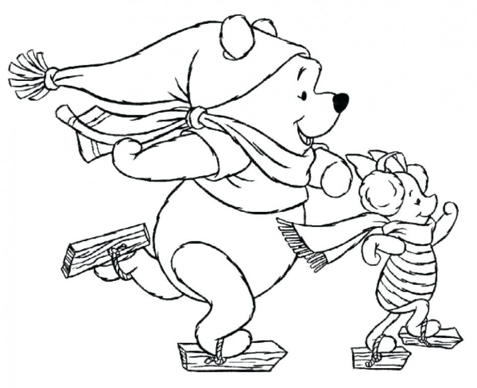 Disney Christmas Coloring Pages Free Kids Printable Coloring Pages ..