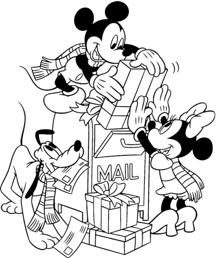 Disney Christmas Colouring Pages | Only Coloring Pages – Coloring Home – Free Disney Christmas Colouring Pages