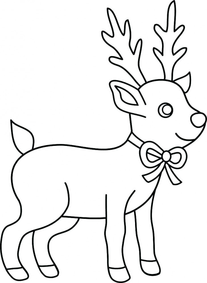 Easy Christmas Coloring Pages Download Free Printable And Coloring ..