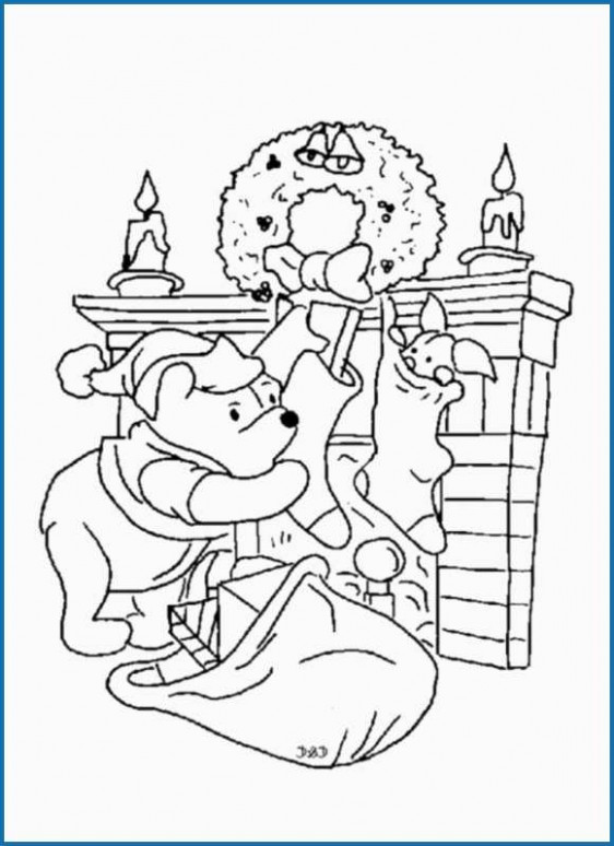 Eeyore Christmas Coloring Pages Beautiful Piglet Pig Coloring Pages ..