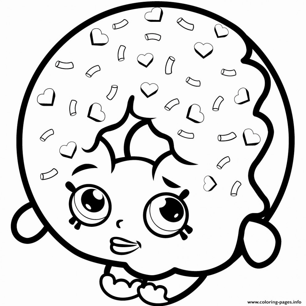 Elegant Full Size Shopkins Coloring Pages – Teachinrochester
