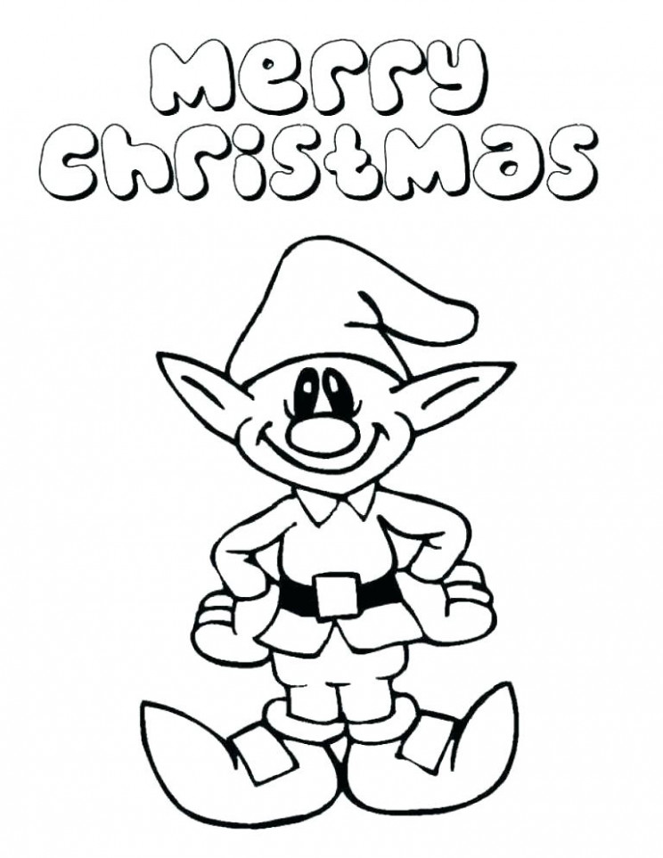 Elf Coloring Elf Coloring Pages Printable Lovely Girl Elf Coloring ...
