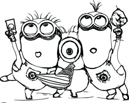 Extremely Inspiration Minion Christmas Coloring Pages 14 Sheets Free ...