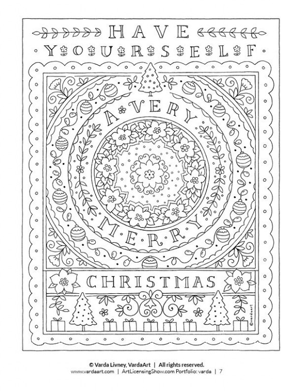 Free 15 Page Holiday Coloring Book | Coloring pages | Coloring pages ..
