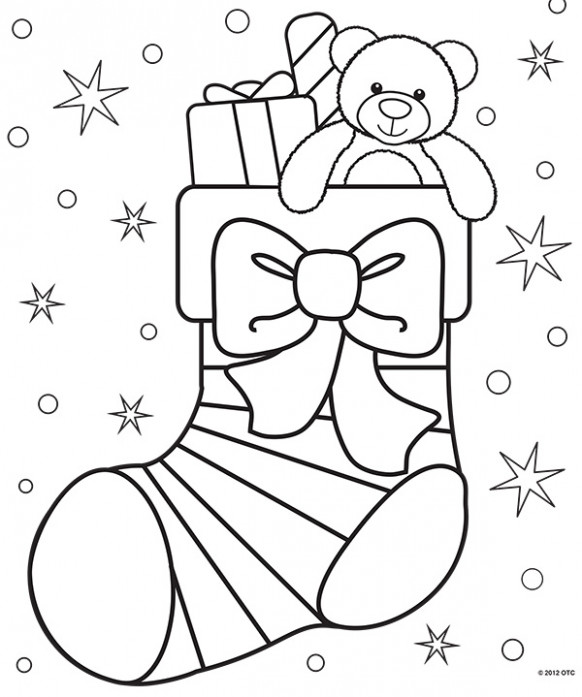 FREE Christmas Coloring Pages for Adults and Kids - Happiness is ..