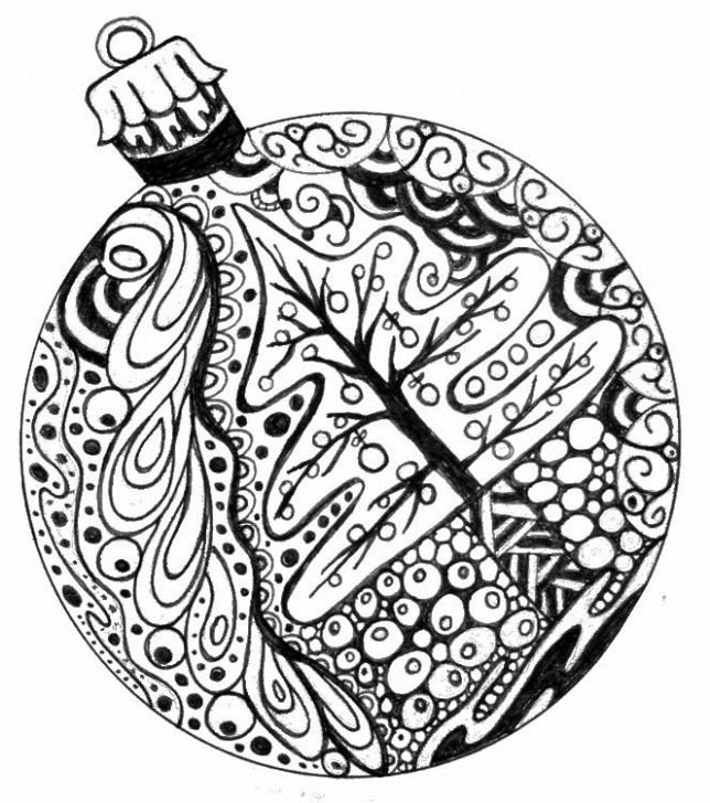 Free Christmas Coloring Pages For Adults – Coloring Home – Free Christmas Colouring Pages Uk