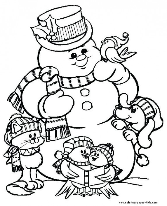 Free Christmas Coloring Pages For Kids Printable Coloring Pages Free ...