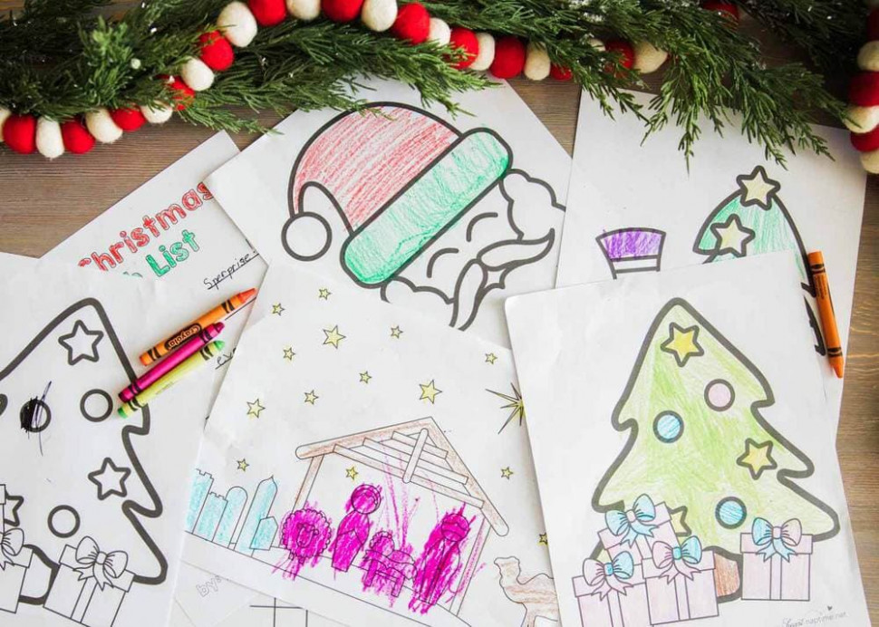 FREE Christmas Coloring Pages Printables – I Heart Naptime – Christmas Coloring Designs
