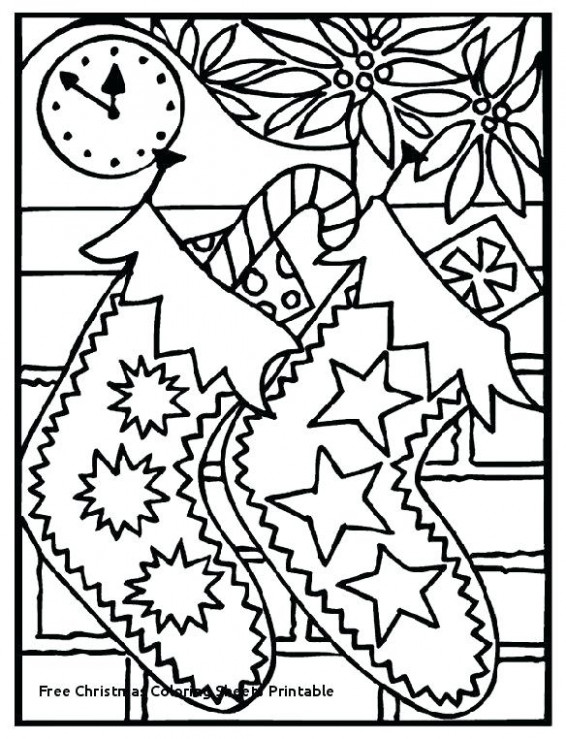 free christmas coloring pages – thefrangipanitree