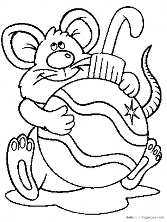 free christmas coloring pages to print | christmas animal coloring ..