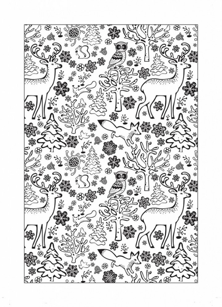 Free Christmas colouring sheets – Papercraft Inspirations – Free Christmas Colouring Pages Uk