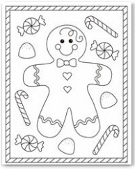 Free Christmas Printables – Coloring Pages – Christmas Coloring In Pages Free