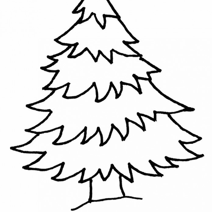 Free Christmas Tree Coloring Pages for the Kids – Christmas Coloring Pages Tree