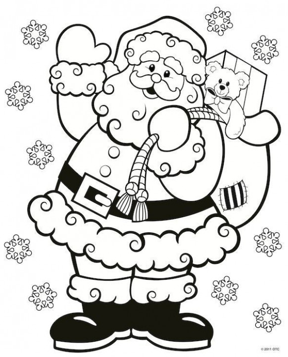 Free Coloring Pages for Middle School Best Of Simple Christmas Color ..