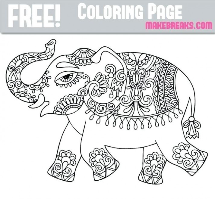 free elephant coloring pages – sugarbucketink