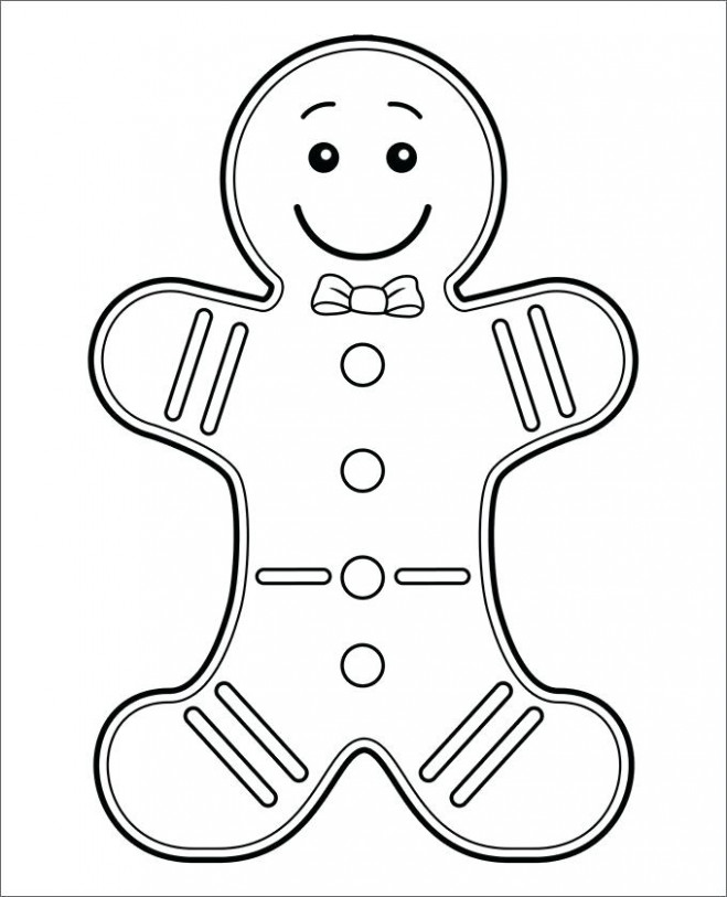 Free Gingerbread Coloring Pages Free Coloring Pages Gingerbread Man ..