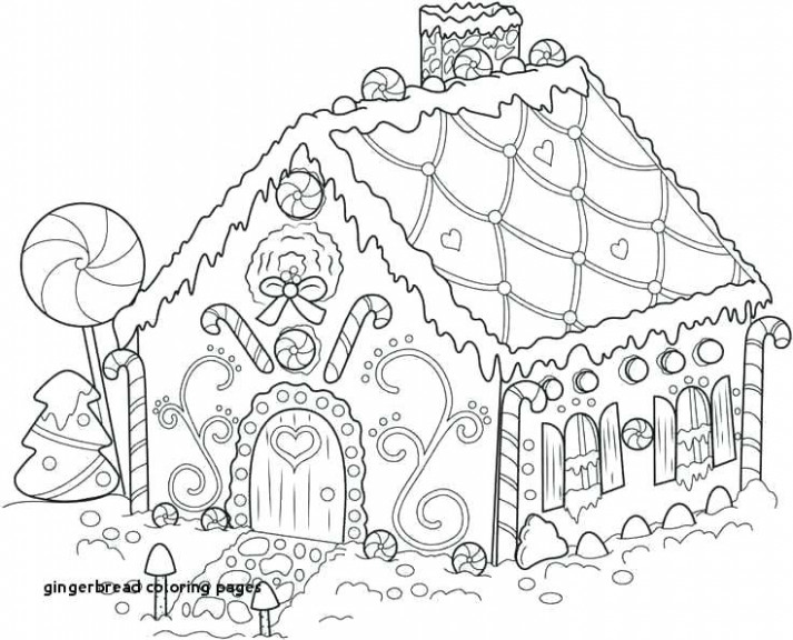 Free Gingerbread Coloring Pages Gingerbread Man Coloring Pages Free ..