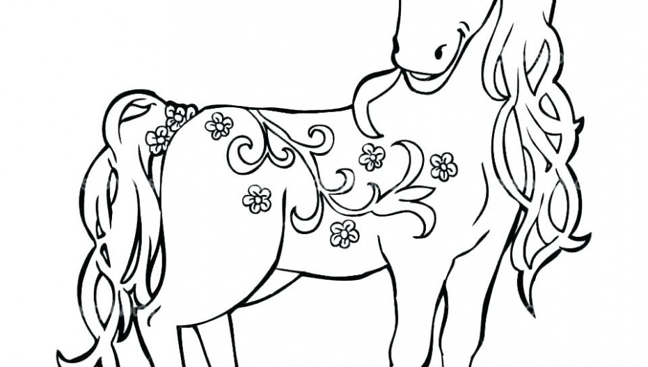 Free Horse Coloring Pages Printable Free Horse Coloring Pages Cute ..