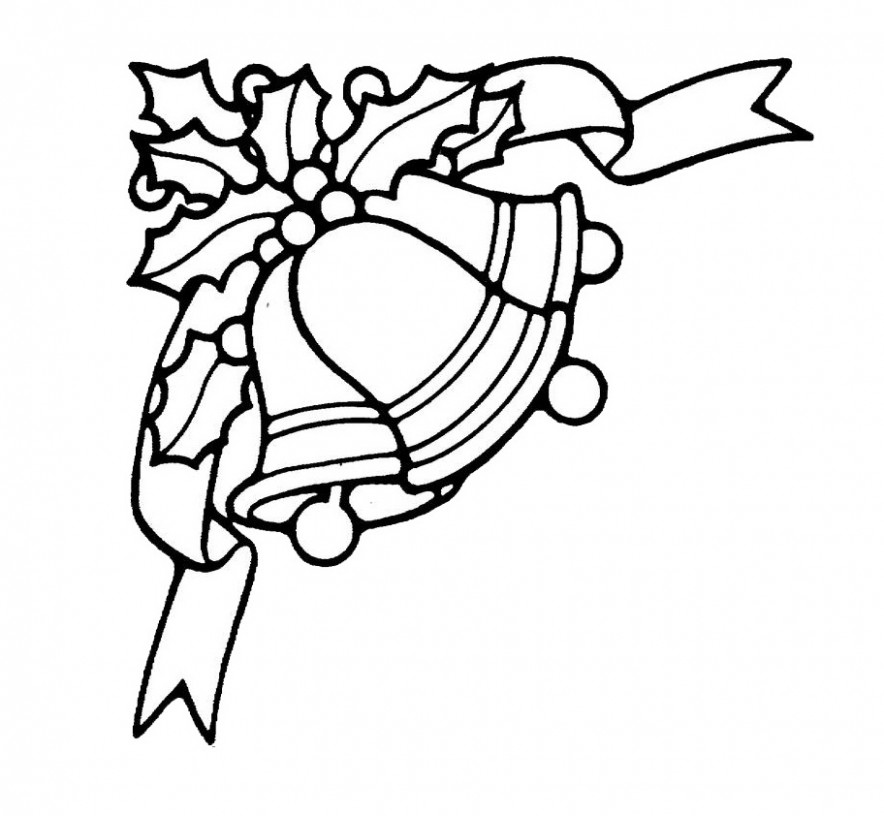 Free Printable Bell Coloring Pages For Kids – Christmas Bell Coloring Page Printable
